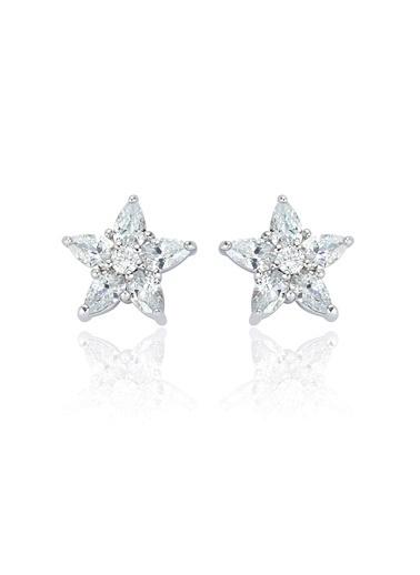 2,80 Ct Pırlanta Efekt  Altın Orıon Küpe -Tophills Diamond Co.
